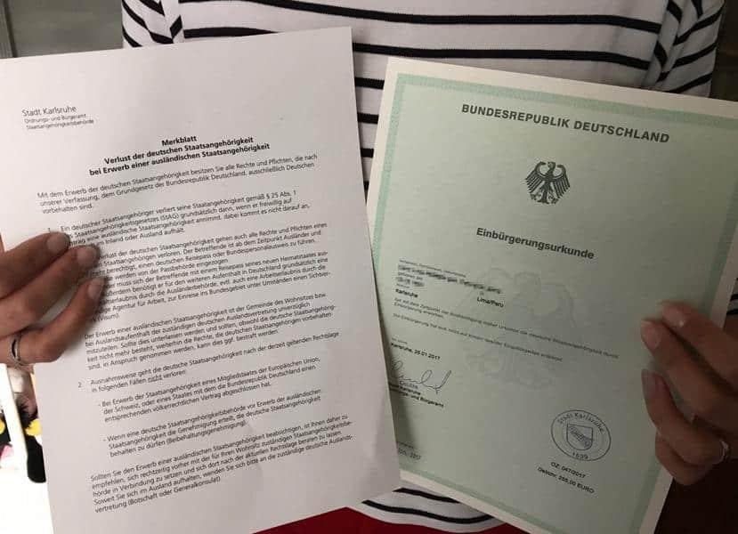 Einbürgerungstest München